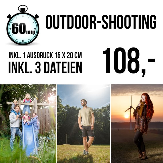 kleines Outdoorshooting